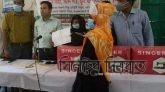তাহিরপুরে বঙ্গবন্ধু জাতীয় যুব দিবসে ৩০জন যুবতীকে সেলাই মেশিন বিতরণ